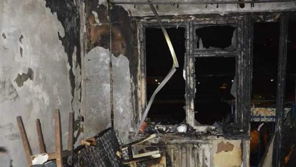 В Днепре горела квартира на 8-м этаже многоэтажки