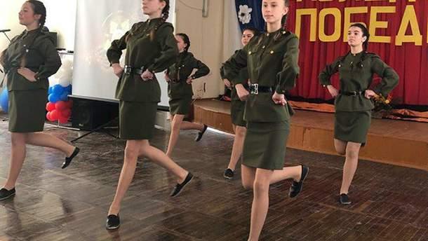 У Криму проводять пропагандистські концерти за участю дітей
