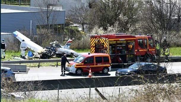 Авіакатастрофа у Франції