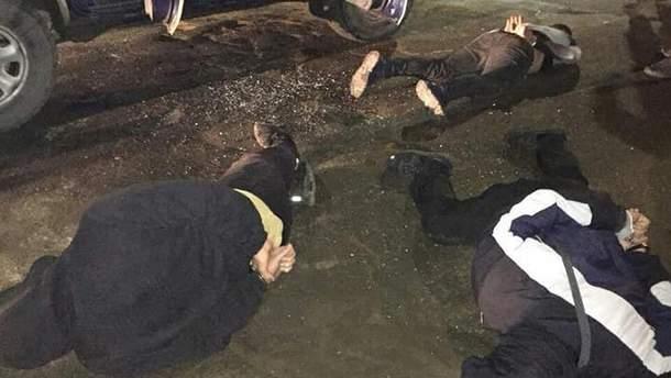 Полиция задержала 11 человек после стрельбы в Ивано-Франковске