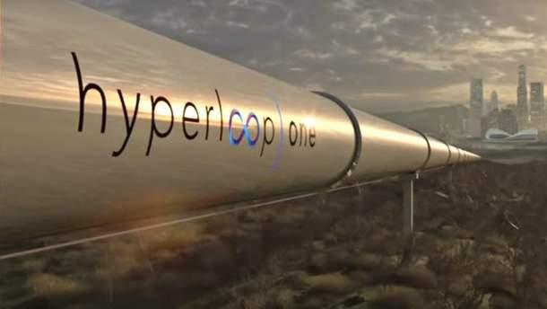 Hyperloop з Києва до Львова