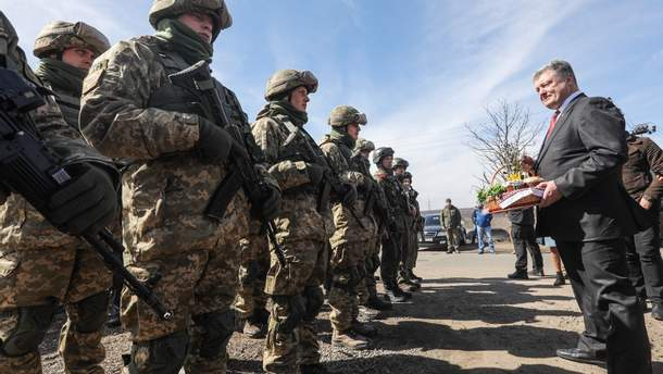 Зустріч Порошенка та військовослужбовців