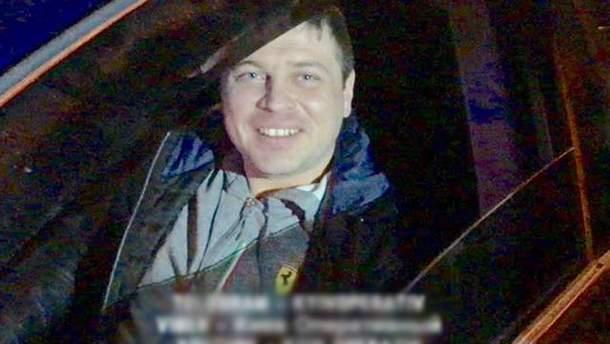 Виновник ДТП в Киеве