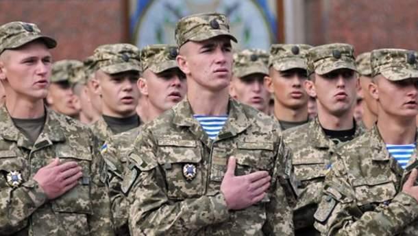 Со 2 апреля в Украине начинается весенний призыв на срочную службу