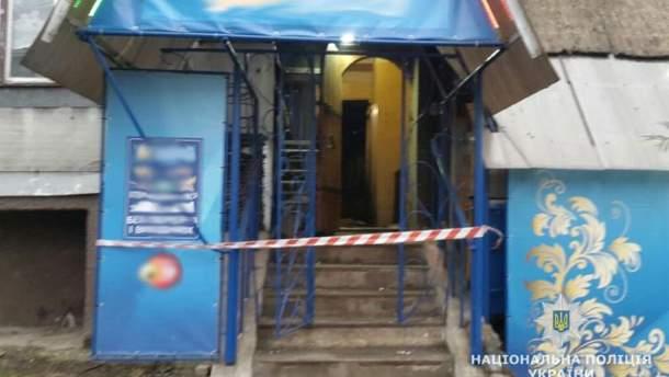 Взрыв произошел в одном из лотерейных заведений Малина Житомирской области