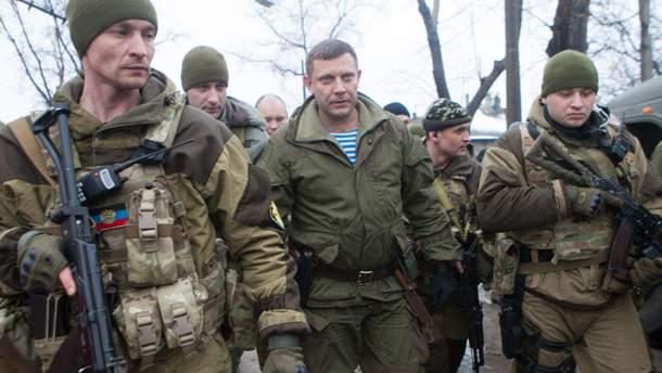 Руководитель оккупированной администрации в Донецкой области Захарченко