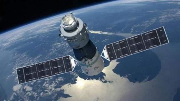 """Китайская космическая станция """"Тянгун-1"""""""