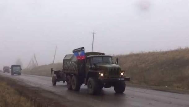 """Окупанти втратили вантажівку """"Урал"""" з боєприпасами"""