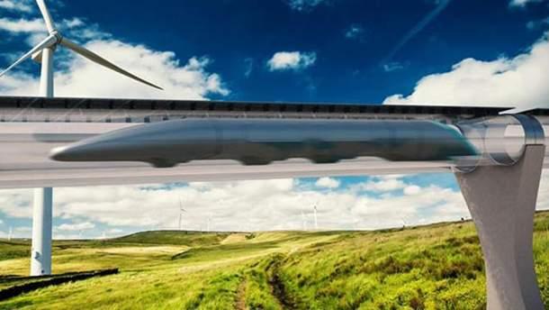 Hyperloop може з'явитися в Україні у 2019 році