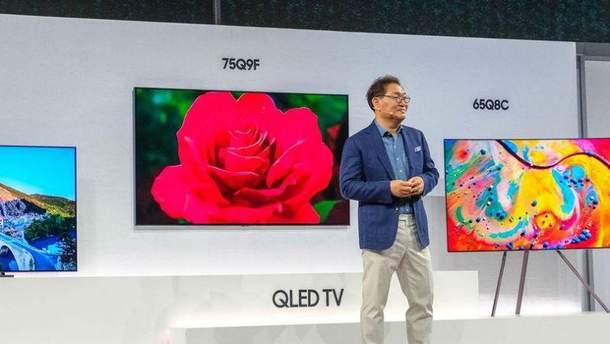 QLED.-телевізори від Samsung