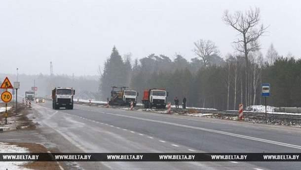 Реконструкція траси  М6 Мінськ-Гродно