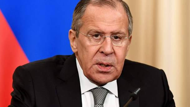 Лавров порівняв відносини Росії з Заходом з дитячою грою