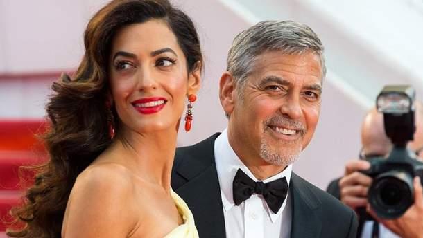 Стильный образ Амаль Клуни