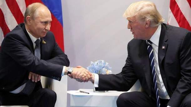 Трамп запропонував Путіну зустрітися в Білому домі