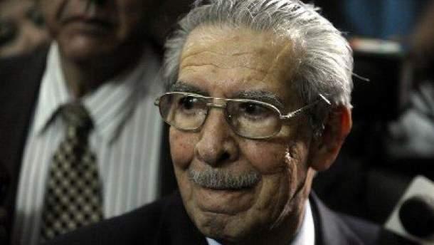 Умер гватемальский диктатор Риос Монтт