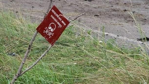 Проросійські окупаційні війська використовують на Донбасі міни радянського виробництва (ілюстрація)