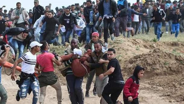 Сутички на кордоні Сектору Гази з Ізраїлем: кількість жертв зросла