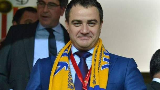 Андрій Павелко заповнив свою декларацію