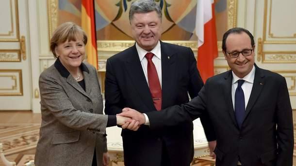 """Саммит """"нормандской четверки"""" могут провести без России"""