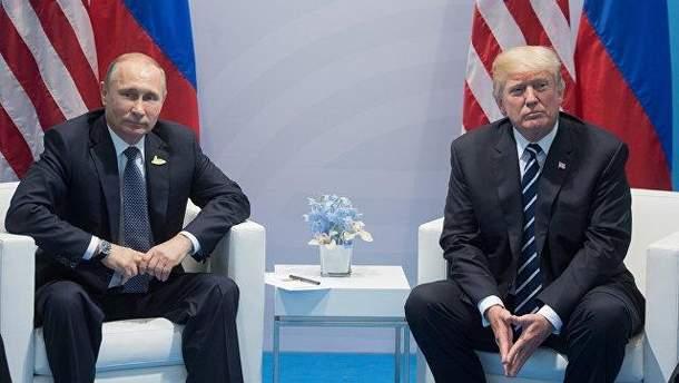 Трампа и Путина изобразили в остроумной карикатуре