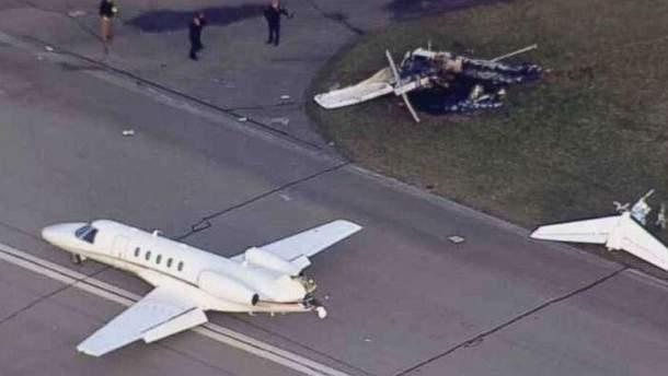 Авиакатастрофа в США