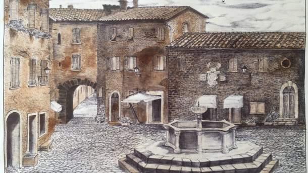 Сущенко в СИЗО нарисовал две картины с помощью чая и шелухи лука