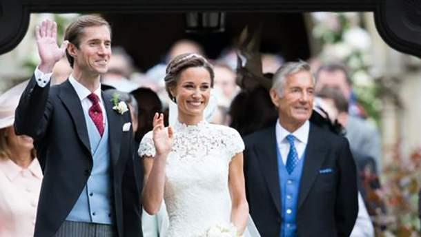 Девід Метьюз на весіллі Піппи Міддлтон