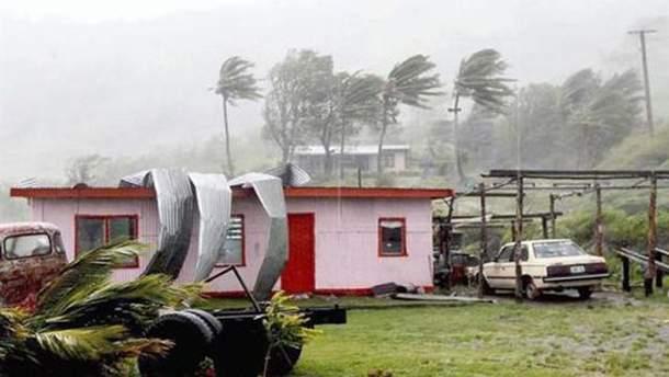 """Ураган """"Джозі"""" на Фіджі"""