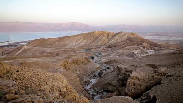 Неймовірна пустеля в Ізраїлі