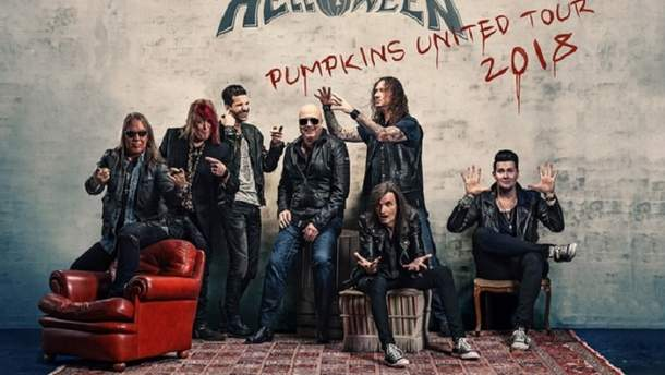 Helloween мандрують з туром Pumpkins United