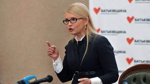 Тимошенко підловили у Раді у кумедній позі