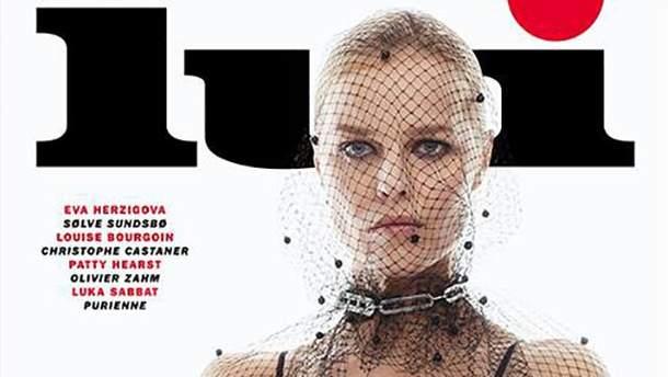 Ева Герцигова для Lui Magazine