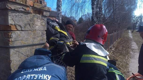 На Рівненщині школяр перестрибував через парка і проколов ногу арматурою