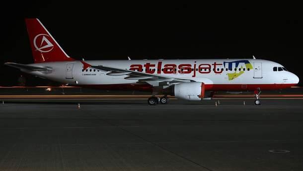 Atlasjet Ukraine прекращает полеты из Украины