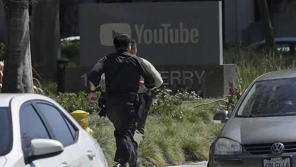 Стрілянина у штаб-квартирі Youtube