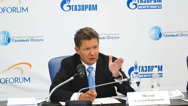 Глава Газпрома Алексей Миллер