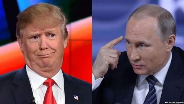 Трамп кличе Путіна в гості