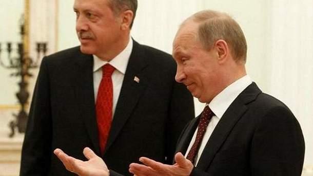 """Ердоган """"відбив"""" у Путіна перед носом дівчину"""