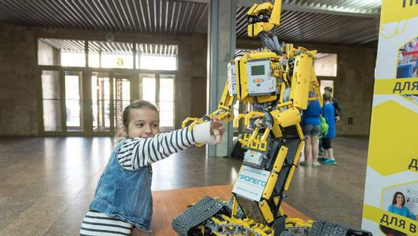 Найбільший роботофестиваль Європи проведуть у Києві