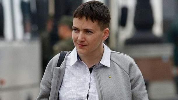 Савченко схудла на 10 кілограмів за час голодування у СІЗО