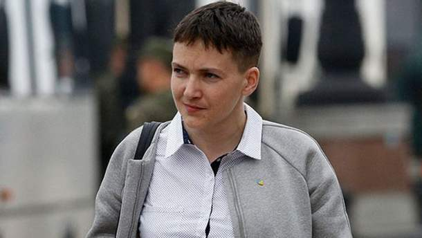 Савченко похудела на 10 килограммов за время голодовки в СИЗО