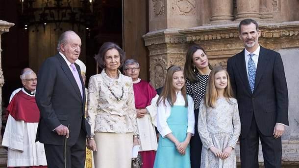 Королевская семья в Испании