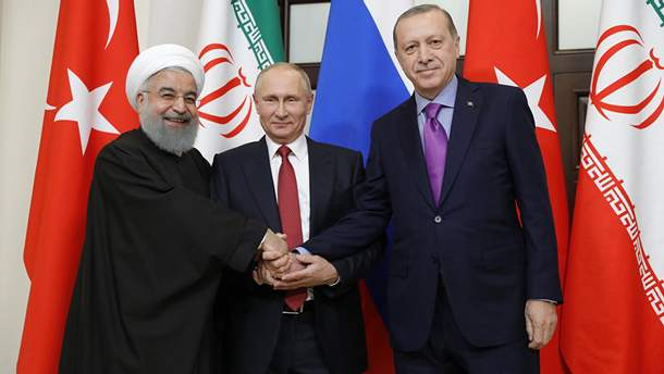 Президенти Туреччини, Росії й Ірану планують майбутнє Сирії
