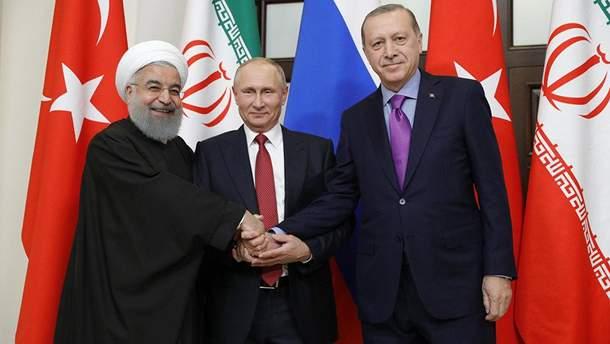 Президенты Турции, России и Ирана планируют будущее Сирии