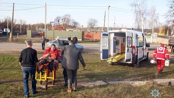 В Хмельницкой области во время развлечений на поезде мальчика ударило током