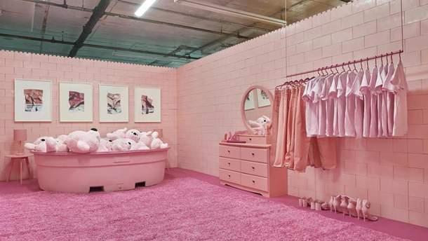 Уникальный дом с цветными комнатами