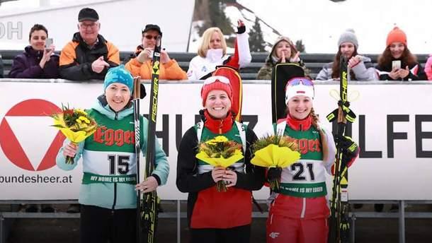 Юлия Джима финишировала второй