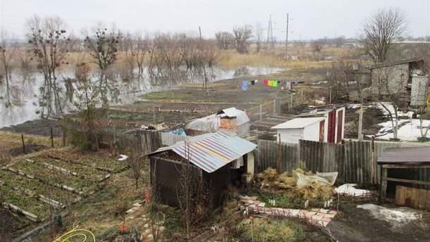 Наводнение в Харьковской области