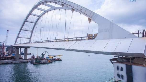Фото строительства Керченского моста