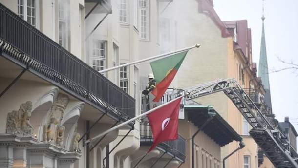 Пожежа у посольстві Португалії у Швеції